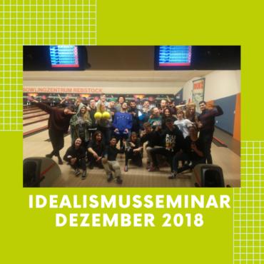 Idealismusseminar Dezember 2018