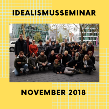 Idealismusseminar November 2018