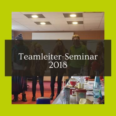 Teamleiter- Seminar 2018