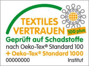 Logo Oeko-Tex Standard 100 Plus