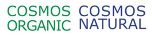 Logo Cosmos Organic und Cosmos Natural