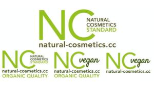 NCS-Siegel für Naturkosmetik