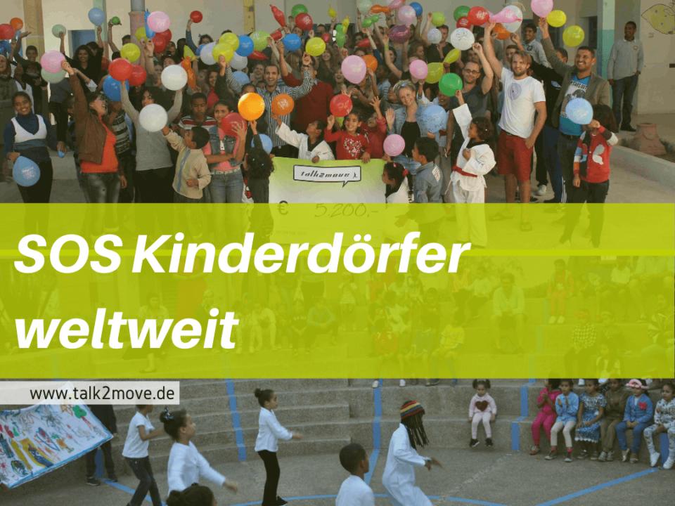 talk2move Blog - SOS Kinderdörfer weltweit - talk2move Partnerorganisation