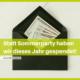 talk2move Blog - Statt Sommerparty haben wir 2020 gespendet - Spendenaktion
