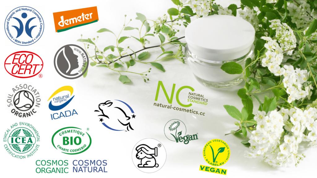 Die wichtigsten nachhaltigen Gütesiegel für Naturkosmetik