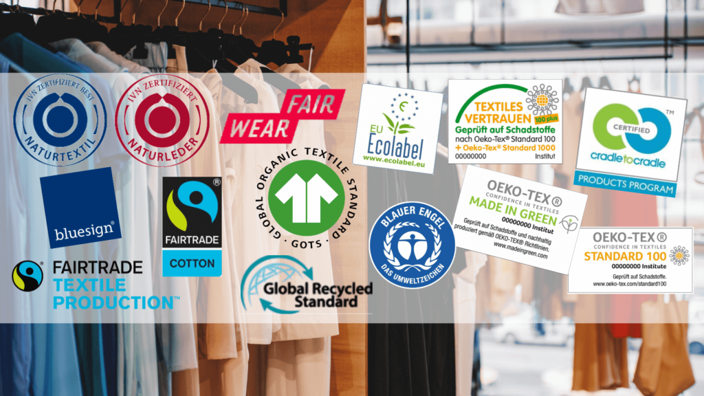 Die wichtigsten nachhaltigen Gütesiegel für Textilien