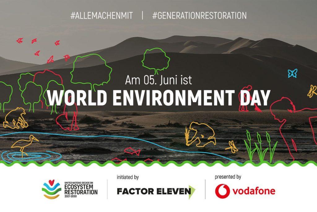 Kampagne #AlleMachenMit zum World Environment Day 2021